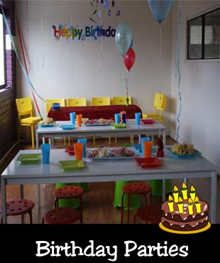Birthday parties near Coburg